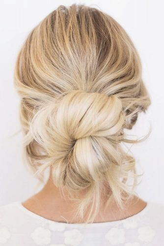 Low Messy Bun Style picture1