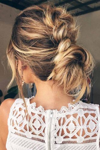 Low Messy Bun Style picture3