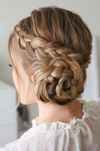 Braided Messy Bun picture1