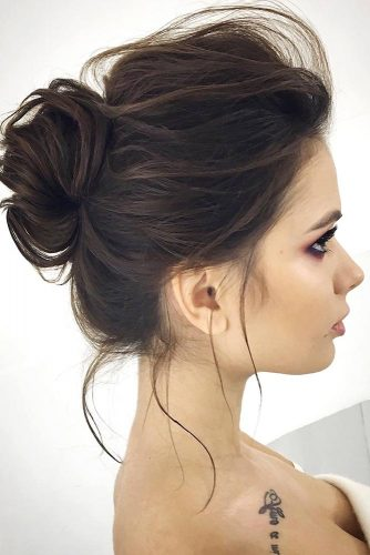 Romantic Messy Buns Hairstyles picture2