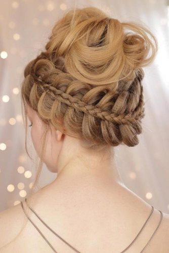 Perfect Messy High Bun picture1