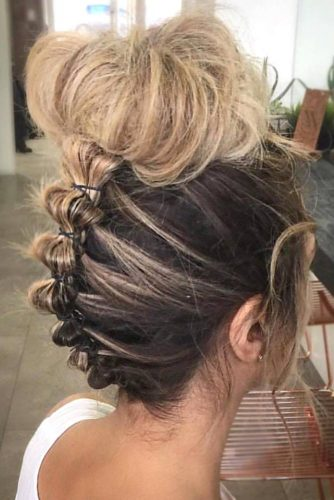 Best Messy Buns Hairstyles for Special Occasion picture1
