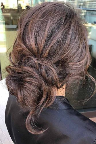 Romantic Messy Buns Hairstyles picture1