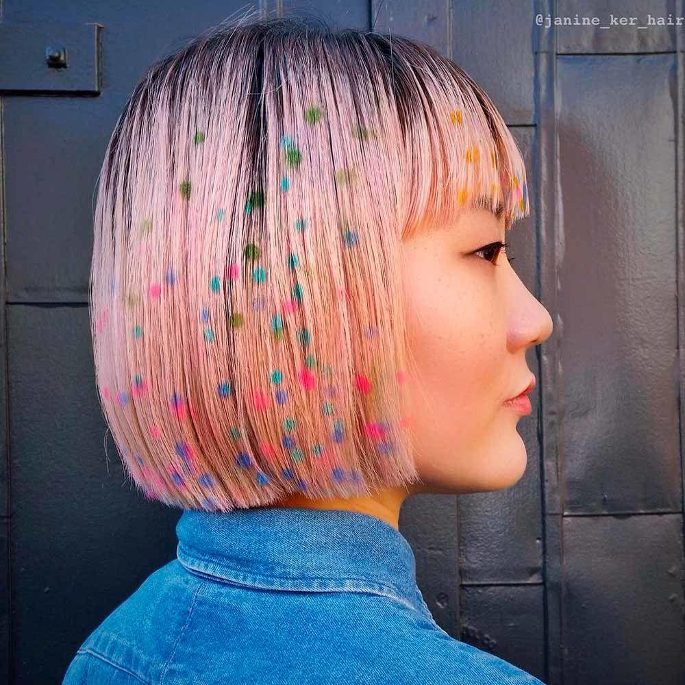 Rose Gold Hair for Brunettes