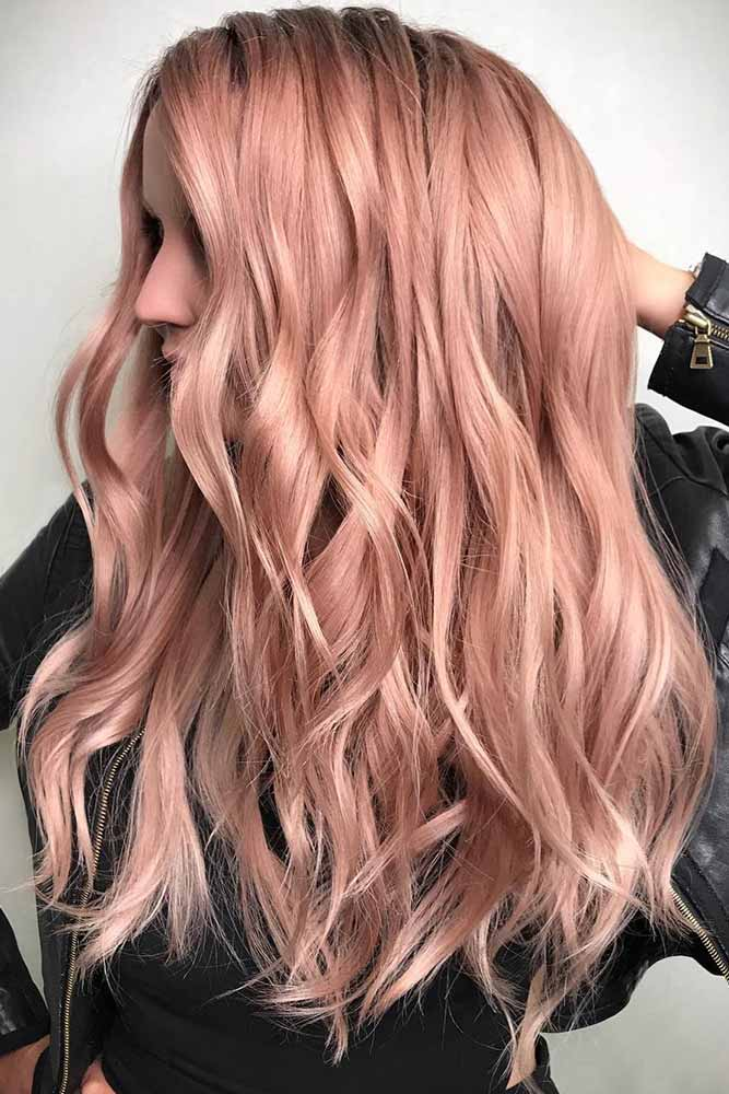 How to Get Rose Gold Hair picture1