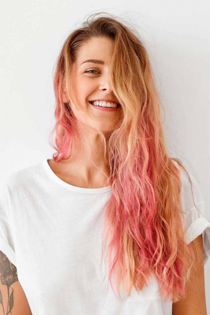 Rose Gold Ombre For Blonds
