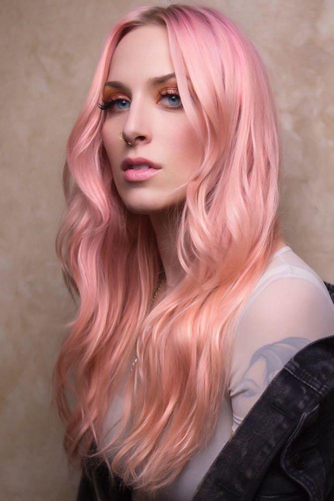 Peachy Tones #rosegoldhair
