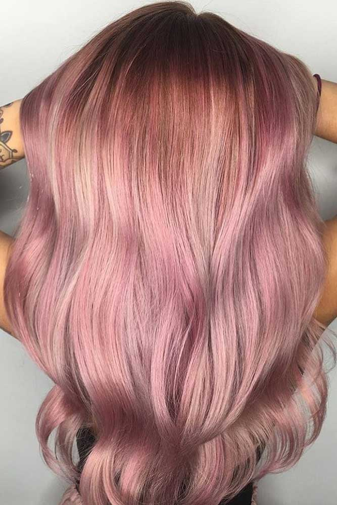 Rose Gold Hair Ombre picture3