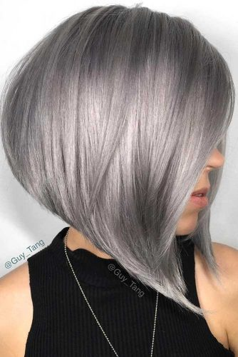 Sleek Short Hair Hairstyles