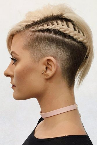 Dutch Braid for Pixie with Undercut