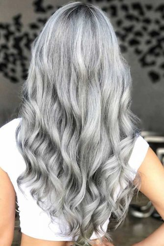 Long Silver Hair picture3