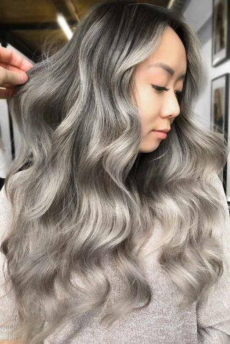 Dirty Silver Tone Dark #silverhair
