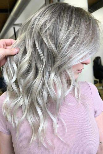 Dirty Silver Tone Layers #silverhair