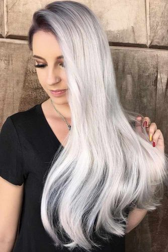 How to Get Gorgeous Silver Hair Color picture3