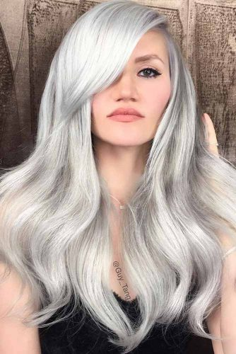 How to Get Gorgeous Silver Hair Color picture2
