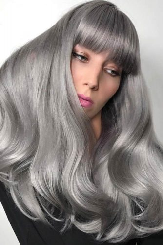 How to Get Gorgeous Silver Hair Color picture1