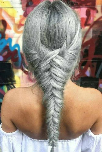 Hairstyles Ideas for Different Silver Hair Tints picture3