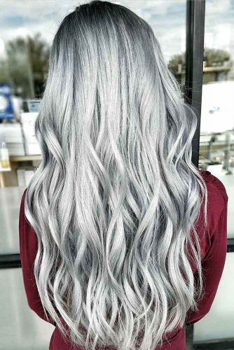 Long Silver Hair picture2