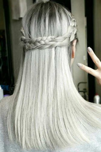 Hairstyles Ideas for Different Silver Hair Tints picture1