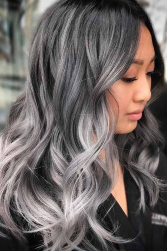 Silver Hair Balayage picture3
