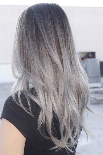Silver Hair Ombre picture3