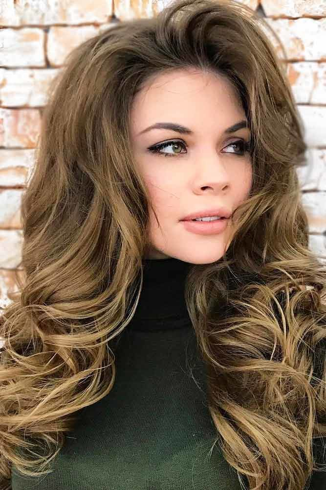 Hollywood Waves Brown #wavyhair #wavyhairstyles #wavyhaircuts