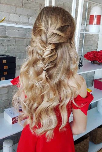 Braided Wavy Hair picture1