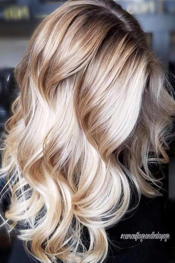 Hollywood Waves Balayage #wavyhair #wavyhairstyles #wavyhaircuts