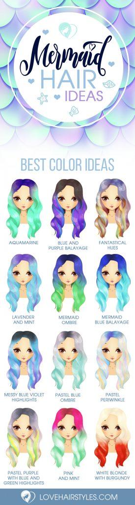 Magical Mermaid Hair Ideas