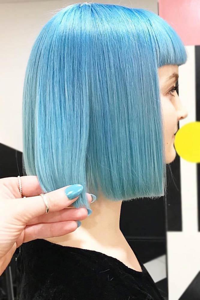 Pastel Blue Hair Color picture2