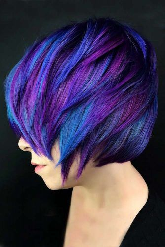 Electric Indigo Purple #bluehair #purplehair