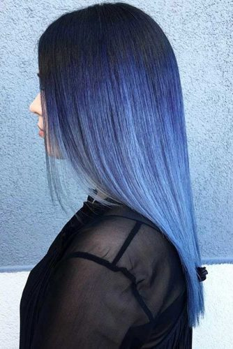 Blue Hair Ombre picture3