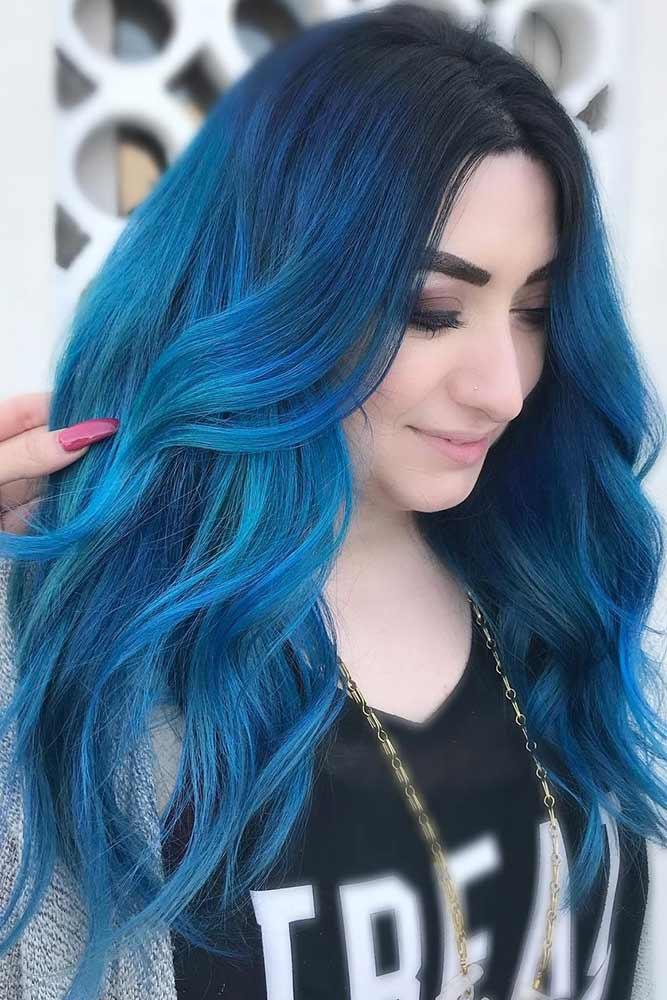 Dark Blue Hair picture2