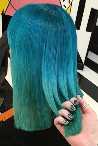 Blue and Green Hair Colors picture2