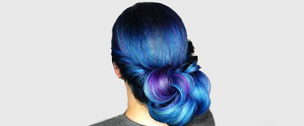 21 Bold Options of Blue Hair Color