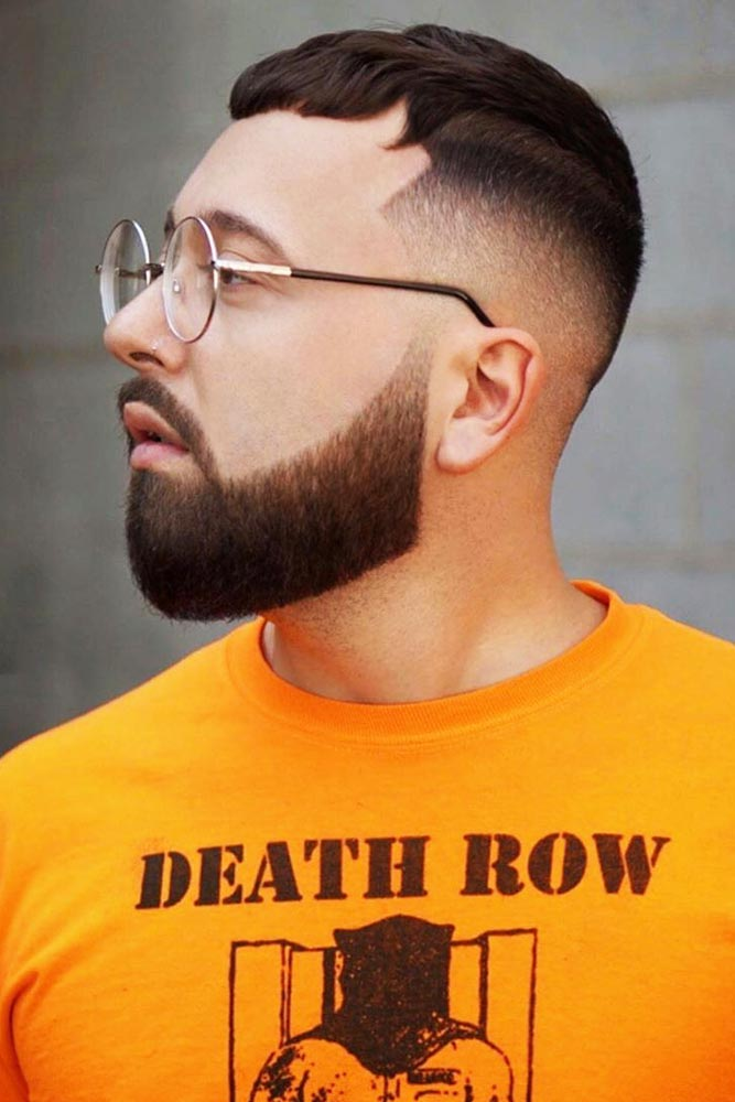 Crew Cut With A Beard Wavy #crewcut