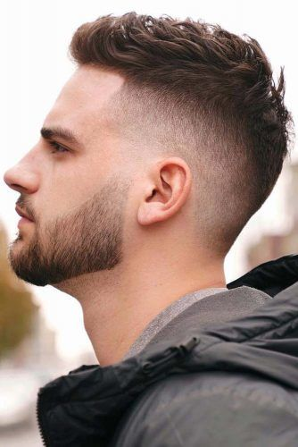 Brushed Up Crew Cut #crewcut #lowfade #fadehaircut