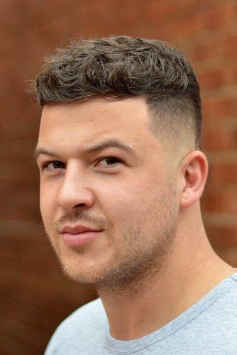 Curly Crew Cut #crewcut #menhaircuts