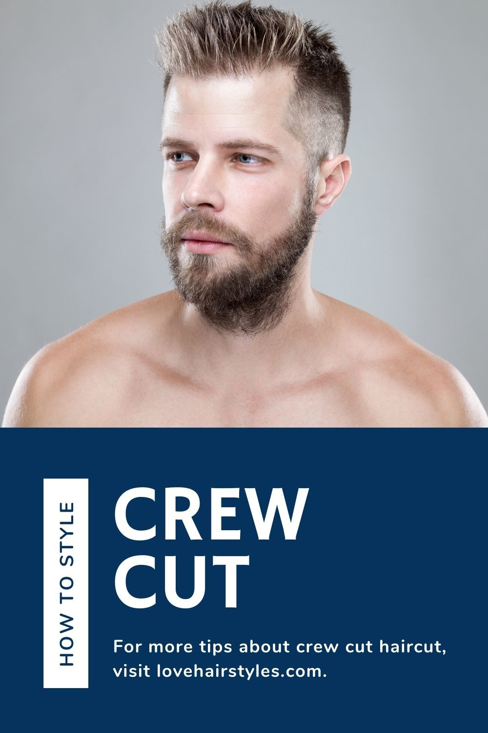 How To Style Crew Cut?