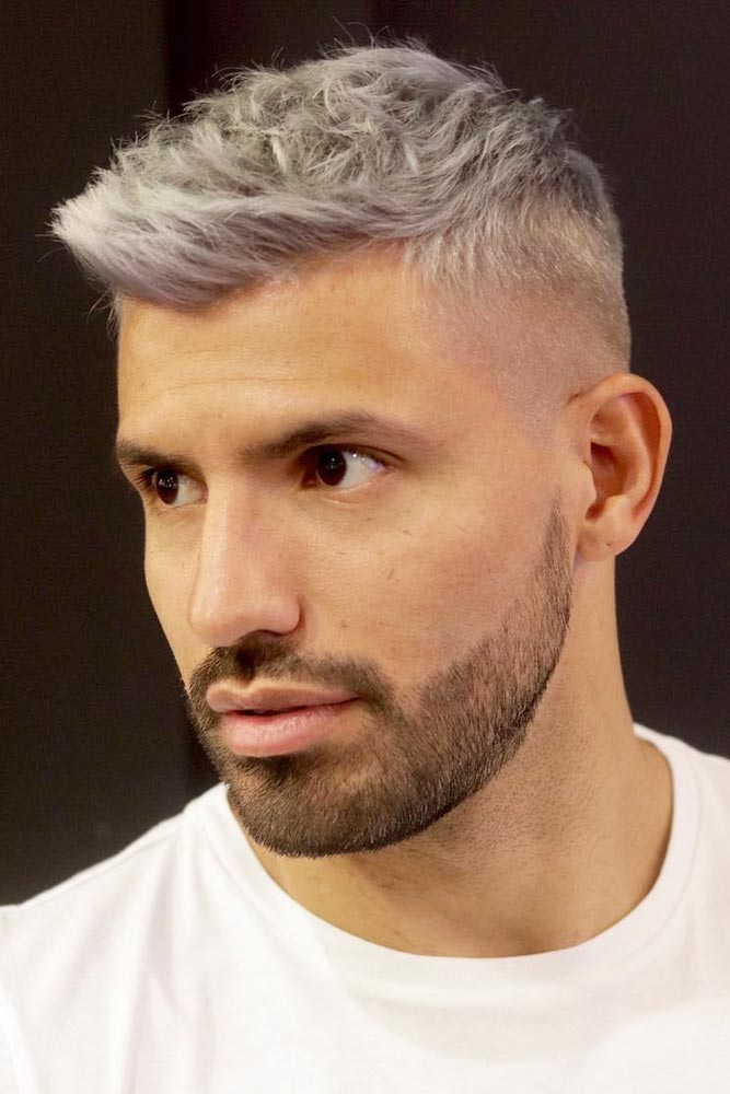Blonde Tousled & Textured Crew Cut #crewcut #menhaircuts