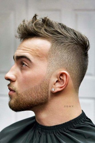 Tousled & Textured Crew Cut With Beard #crewcut #menhaircuts