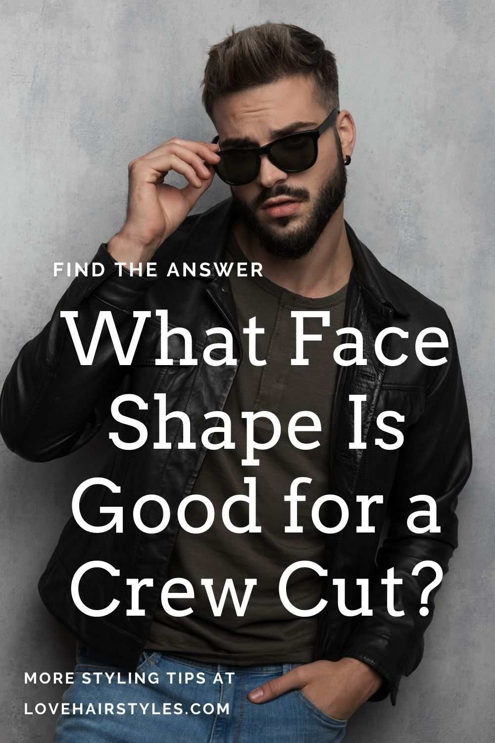 What Face Shape Is Good for a Crew Cut?
