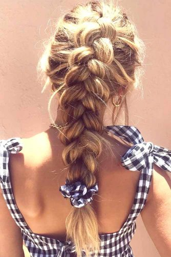 Dutch Braid Tutorial picture2