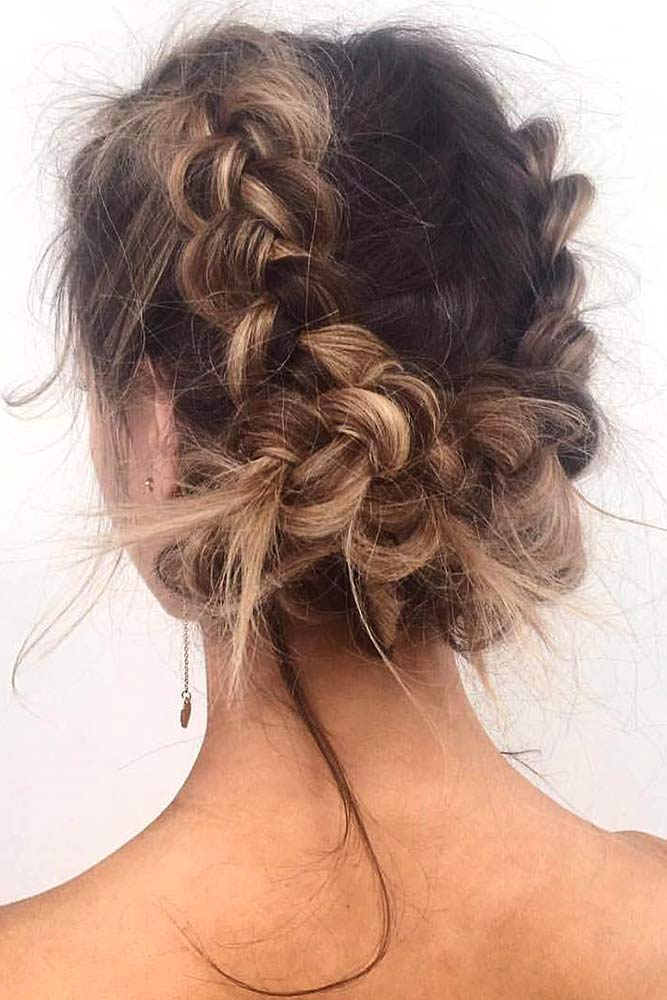 Updo Dutch Braid picture2