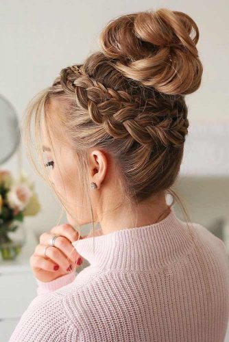 Updo Dutch Braid picture3