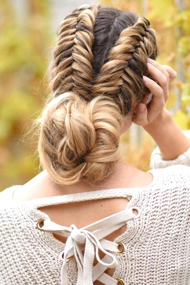 Dutch Fishtail Braid picture3
