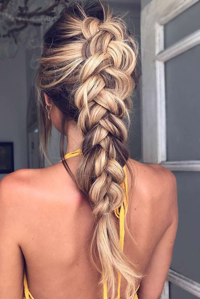 Dutch Braided Hairstyle Ideas picture1