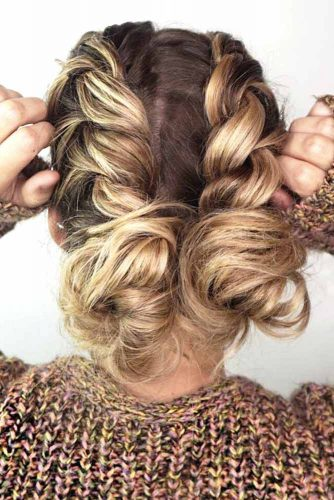 Updo Dutch Braid picture1