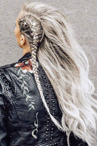 Side Dutch Braid Styles Long #blondehair #longhair #braids