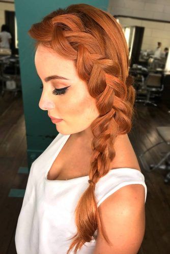 Dutch Braided Hairstyle Ideas picture3